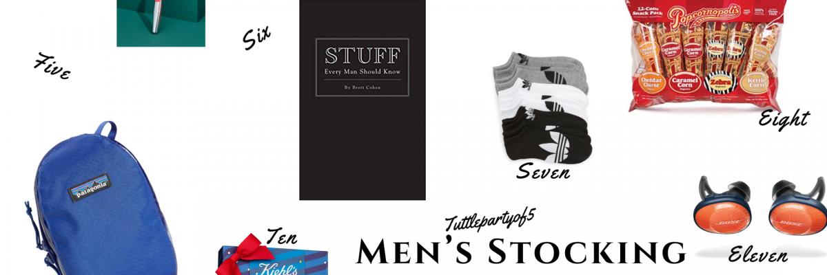Men's Stocking Stuffer Gift Guide