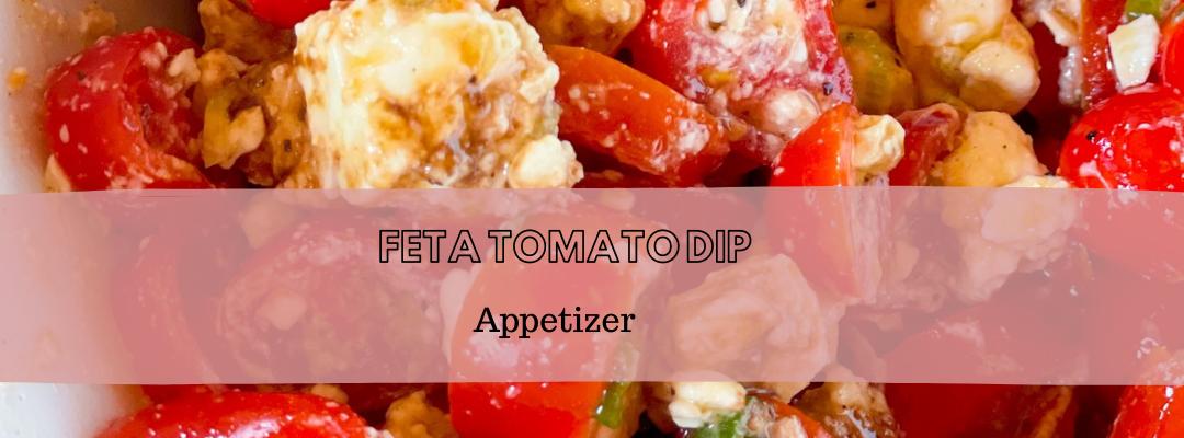 Feta Tomato Dip